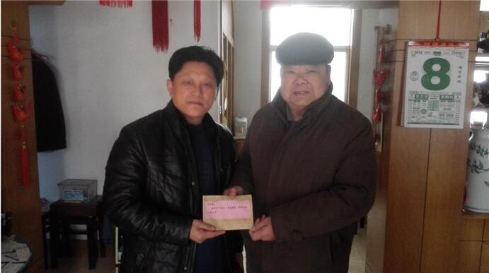 如东县侨联走访看望退休老干部-南通市侨联